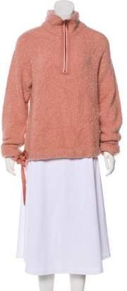 White + Warren Bouclé Knit Sweater