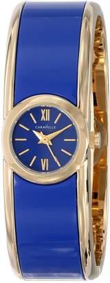 Bulova Caravelle New York Women's 44L145 Bangle Watch