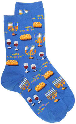Hot Sox Hanukkah Days Crew Socks - Women's