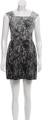 Yoana Baraschi Printed Sleeveless Dress