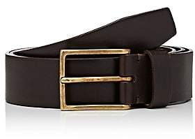 Felisi MEN'S SQUARE-BUCKLE LEATHER BELT