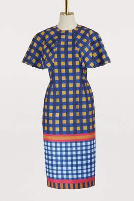 Stella Jean Checked dress