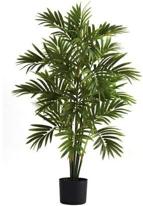 Beachcrest Home Areca Palm Tree in Cylinder Pot
