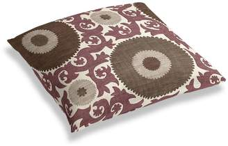Loom Decor Simple Floor Pillow Great Balls of Fire - Damson