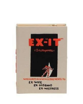 Olympia Le-Tan Ex-It Book Box Crossbody Bag