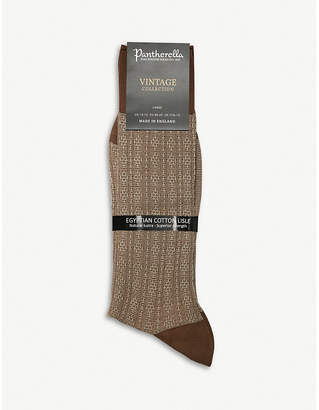 Pantherella Adderley cotton-blend socks