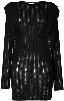 IRO Dapril pointelle-knit dress