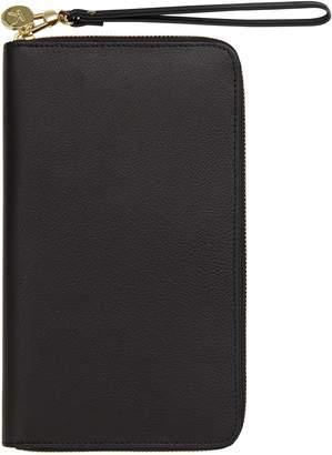 kikki.K Leather Zip-Around Travel Wallet