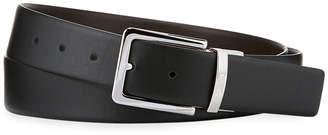 Armani Collezioni Smooth Leather Belt