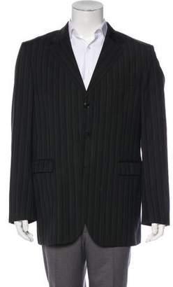 Kenzo Striped Wool Blazer
