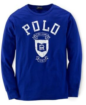 Ralph Lauren Boys 8-20 Cotton Tee