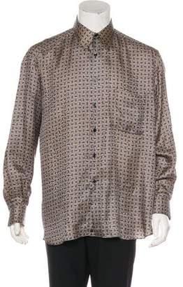 Steffano Ricci Patterned Casual Shirt