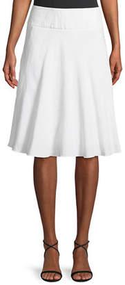 NIC+ZOE Summer Fling Linen-Blend Skirt $118 thestylecure.com