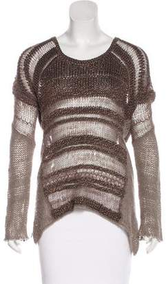 Helmut Lang Silk Knit Sweater
