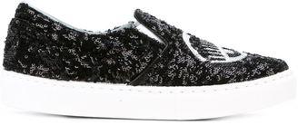 Chiara Ferragni 'Flirting' slip-on sneakers $431.66 thestylecure.com