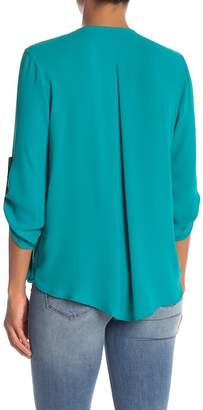 Lush Surplice Neck Blouse
