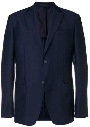Ermenegildo Zegna plain single breasted blazer