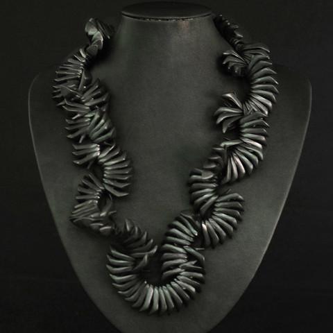 Sara Gallo Jewelry Licorice Doll Shoe Necklace