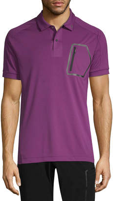 J. Lindeberg Golf Max Slim Tx Jersey + Cooling Polo