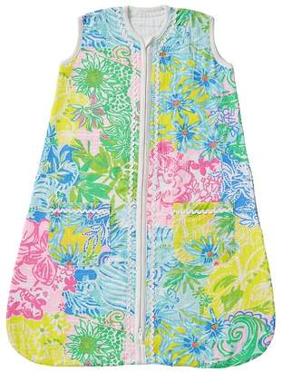 Pottery Barn Kids Lilly Pulitzer Cheek To Cheek Wearable Blanket, Small, Multi