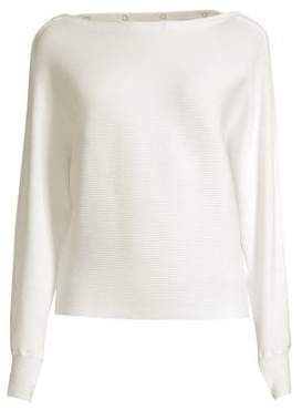 Blanc Noir Women's Portola Sweater - White - Size Medium