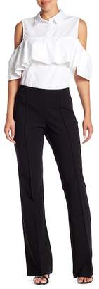 Trina Turk Jacoba Pintuck Flared Pants
