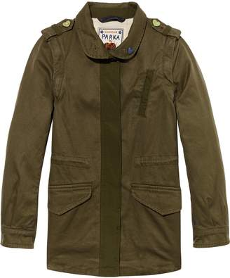 Scotch & Soda Detachable Sleeve Military Jacket