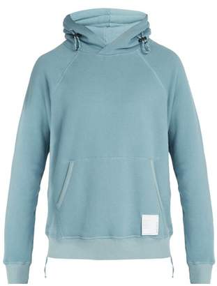 Satisfy Jogger Cotton Jersey Hooded Sweatshirt - Mens - Light Blue