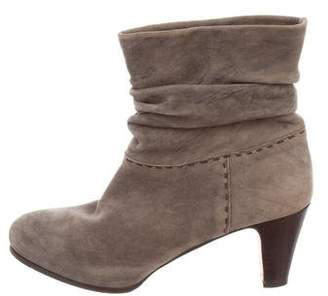 Henry Cuir Suede Ankle Boots