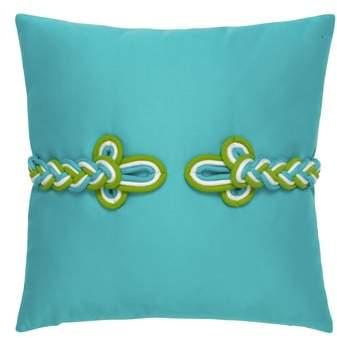 Aruba Frogs Clasp Indoor/Outdoor Accent Pillow