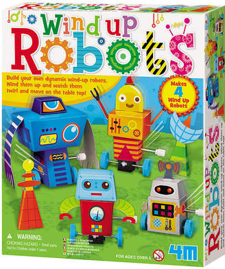 Toysmith 4M Build Your Own Wind Up Robots Kit