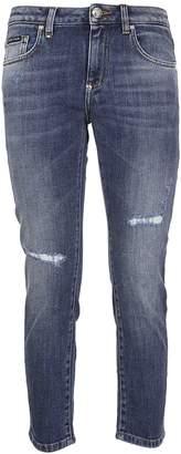 Philipp Plein Slim Boyfriend Jeans