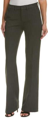 AG Jeans Skylar Charcoal Herringbone High-Rise Trouser