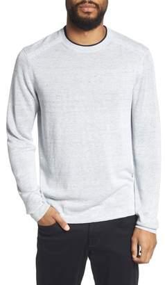 Ted Baker Inzone Crewneck Linen Blend Sweater