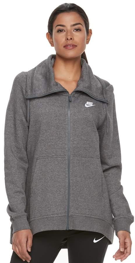 Nike Women's Nike Sportswear Funnel Neck Zip Up Hoodie