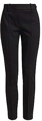 Theory Women's Slim-Fit Pintuck Ankle-Length Pants