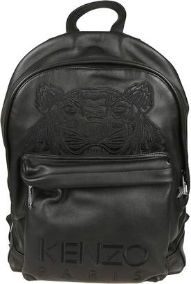 Kenzo Embroidered Tiger Logo Backpack