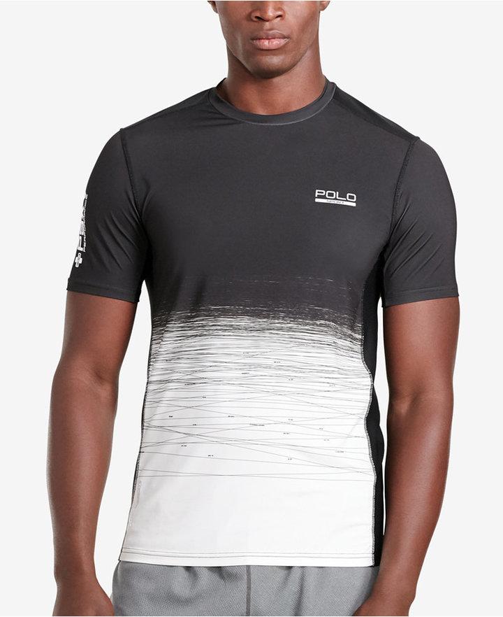 Polo Sport Men's Ombré Compression Jersey T-Shirt