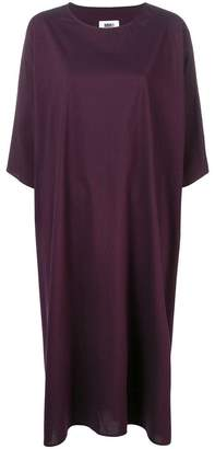MM6 MAISON MARGIELA stripe print loose T-shirt dress