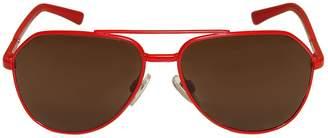 Dolce & Gabbana Aviator Shaped Metal Sunglasses