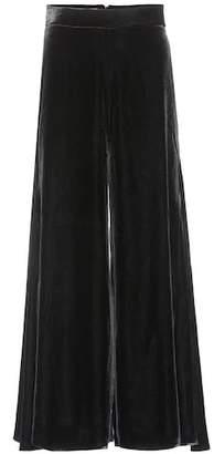 Peter Pilotto Velvet wide-leg trousers