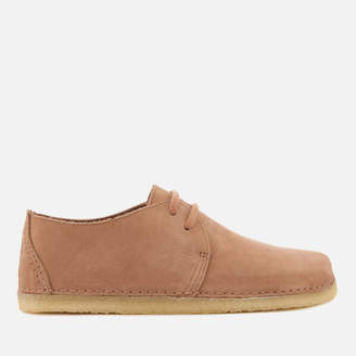 Clarks Women's Ashton Nubuck Derby Shoes - Sandstone