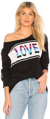 Chaser Love Crew Neck Pullover