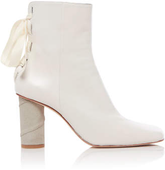 Loewe Bow Detail Leather Boots