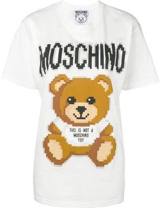 Moschino Pixel Teddy Bear T-shirt