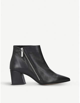 Carvela Signet zipped leather ankle boots