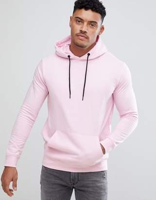 Bershka Hoodie In Pink