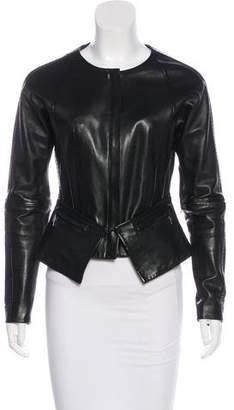 Amanda Wakeley Lightweight Leather Jacket