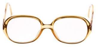 Christian Dior Round Eyeglasses