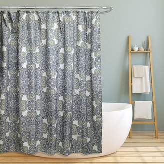 Red Barrel Studio Farnsworth Geometric Paisley Floral Shower Curtain